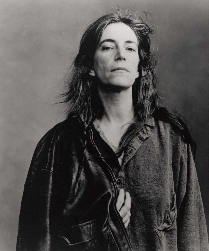 Patti Smith, New York City, 1996 by Annie Leibovitz