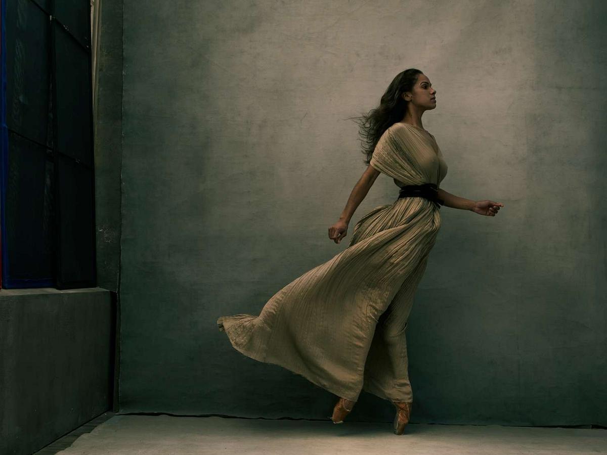 Misty Copeland, New York City, 2015, Annie Leibovitz from WOMEN New Portraits