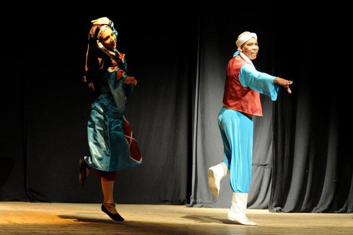 con Saad Ismail - Raqs Festival - Genova 2011