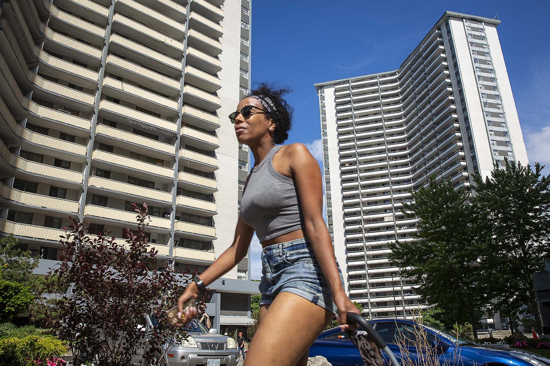 St. James Town, Toronto, June 7, 2018,