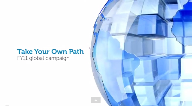 Dell Take Your Own Path Global Campaign