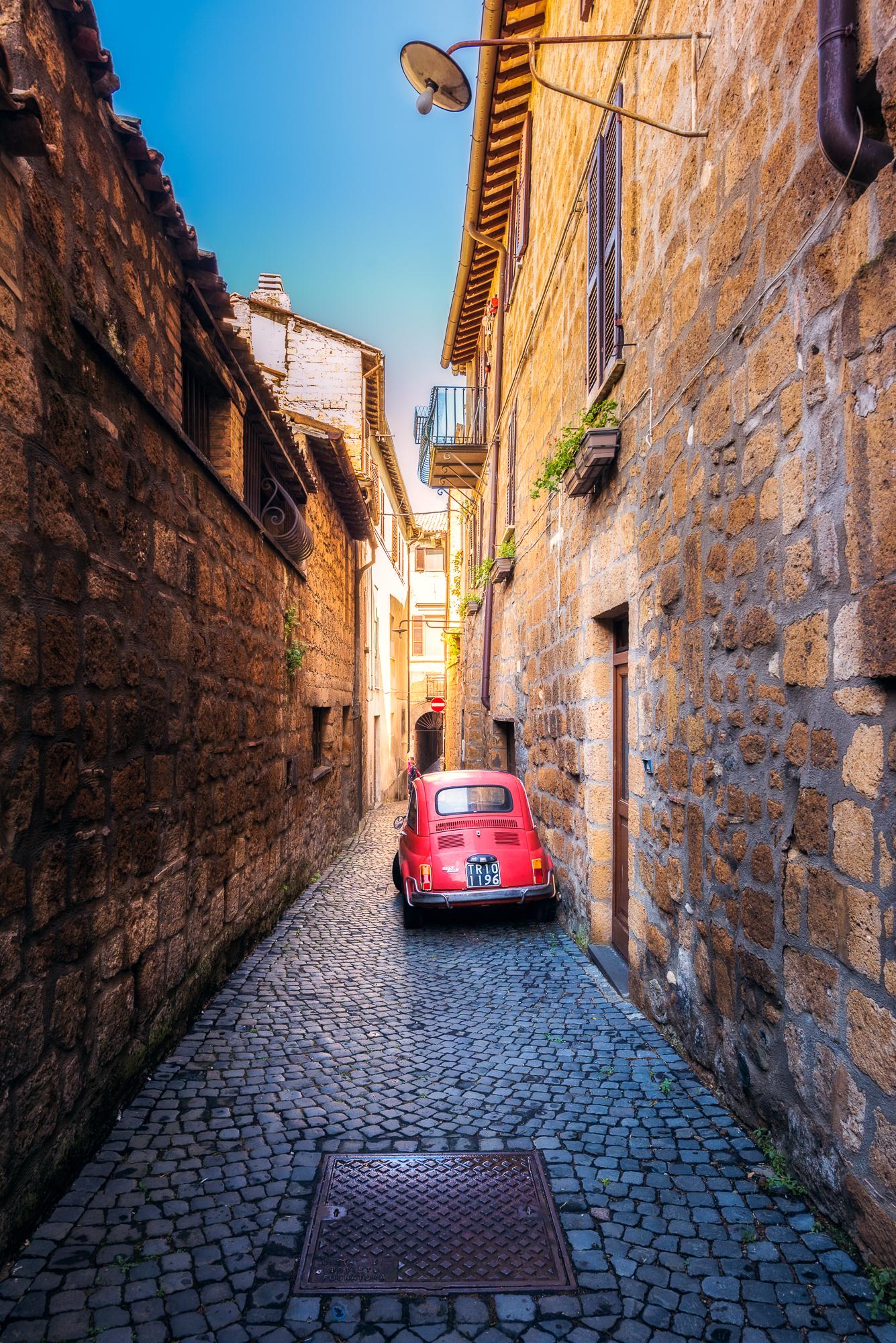 Calles de Orvieto