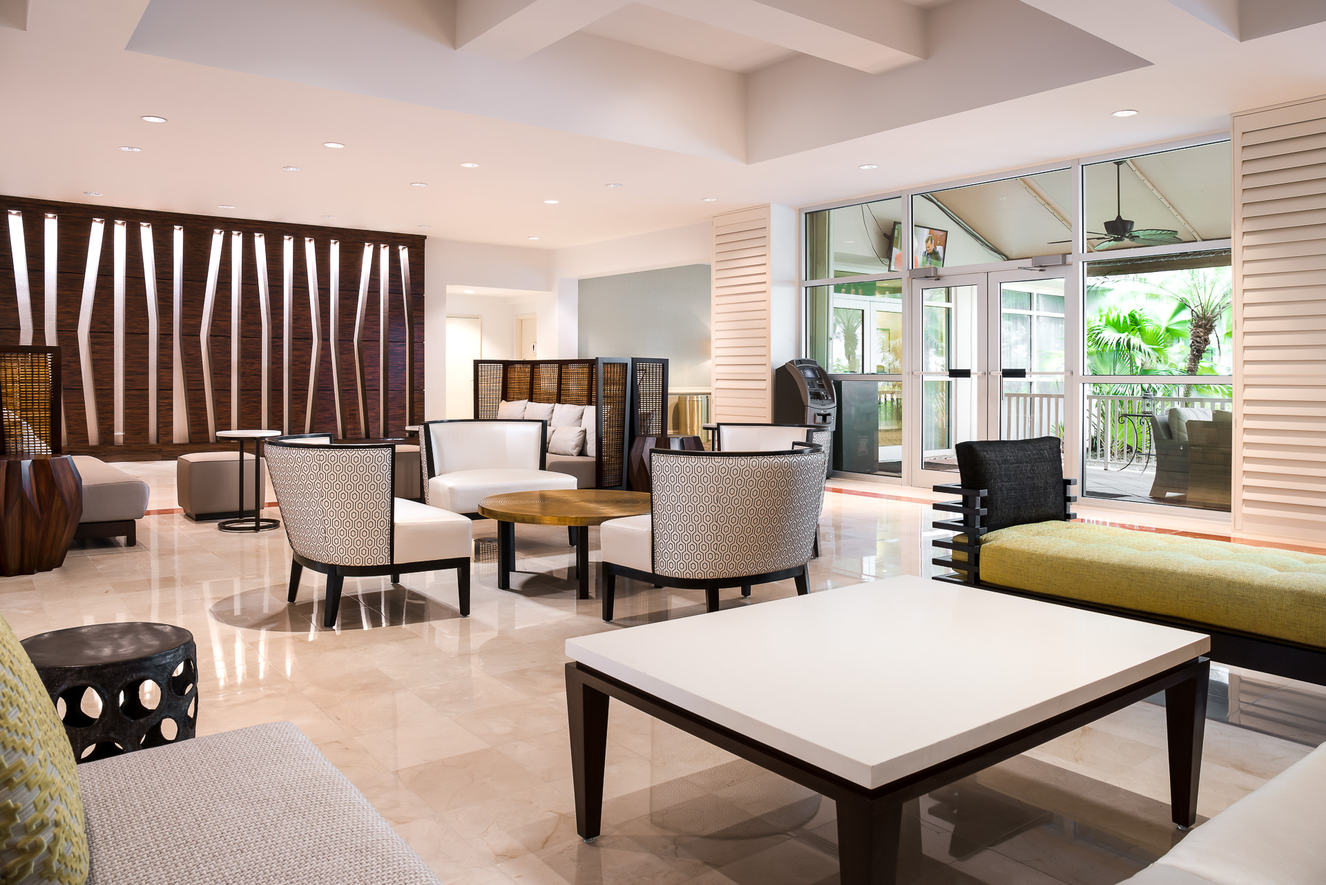 Marriott West Palm Lobby Renovations | Hotel Photographer