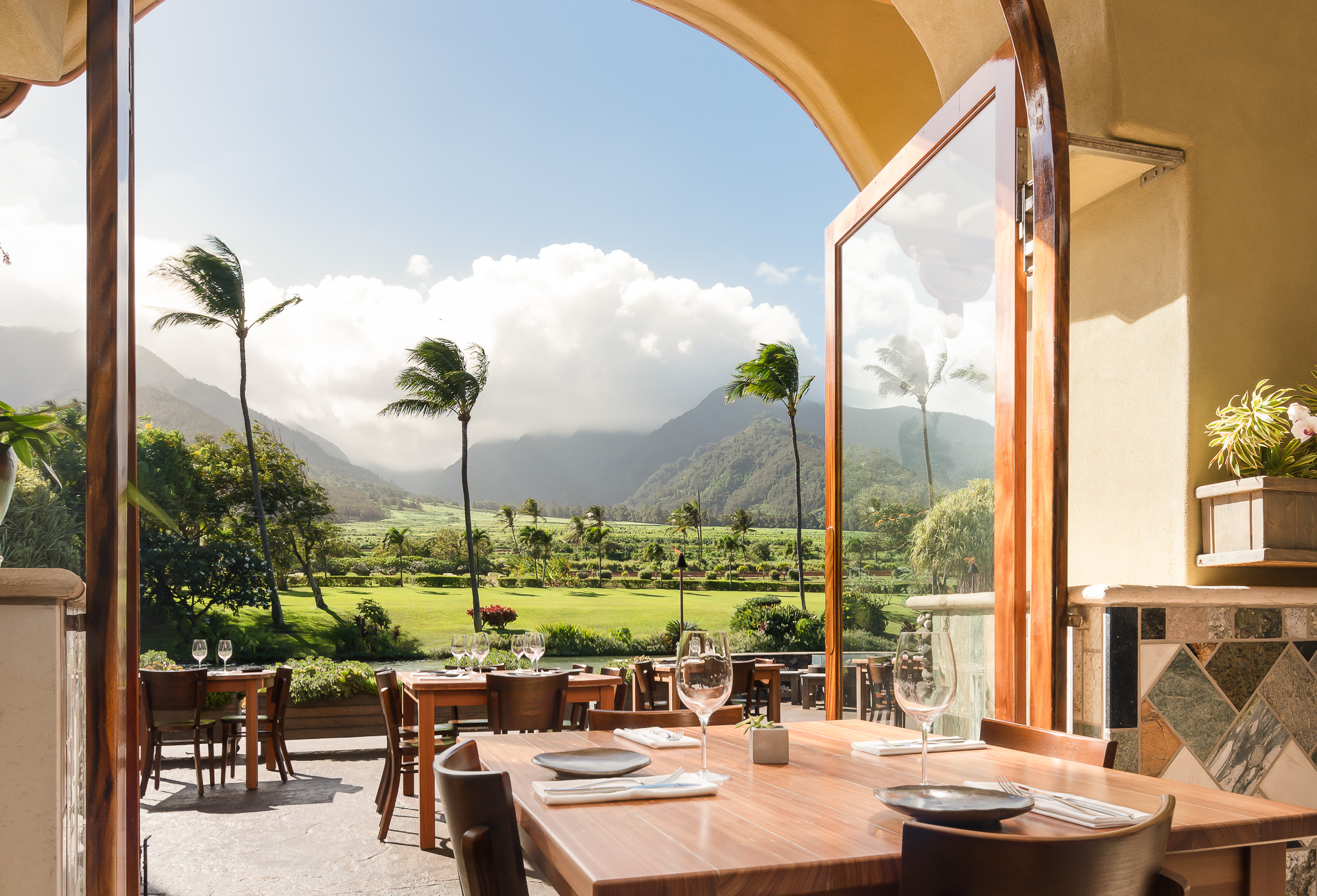 Hospitality Photography, Mill House Maui