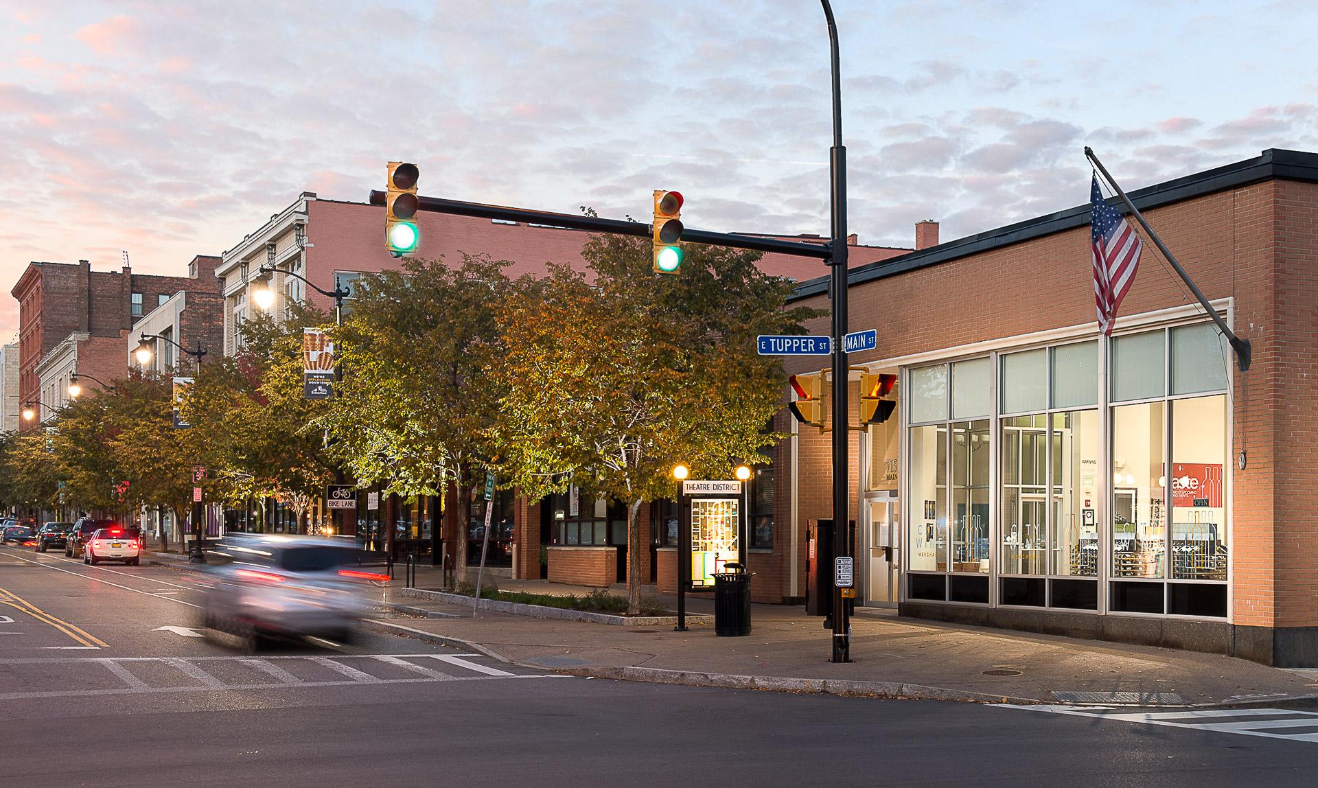 Photos of Main Street Buffalo USA, an artery to Buffalo Niagara Medical Campus