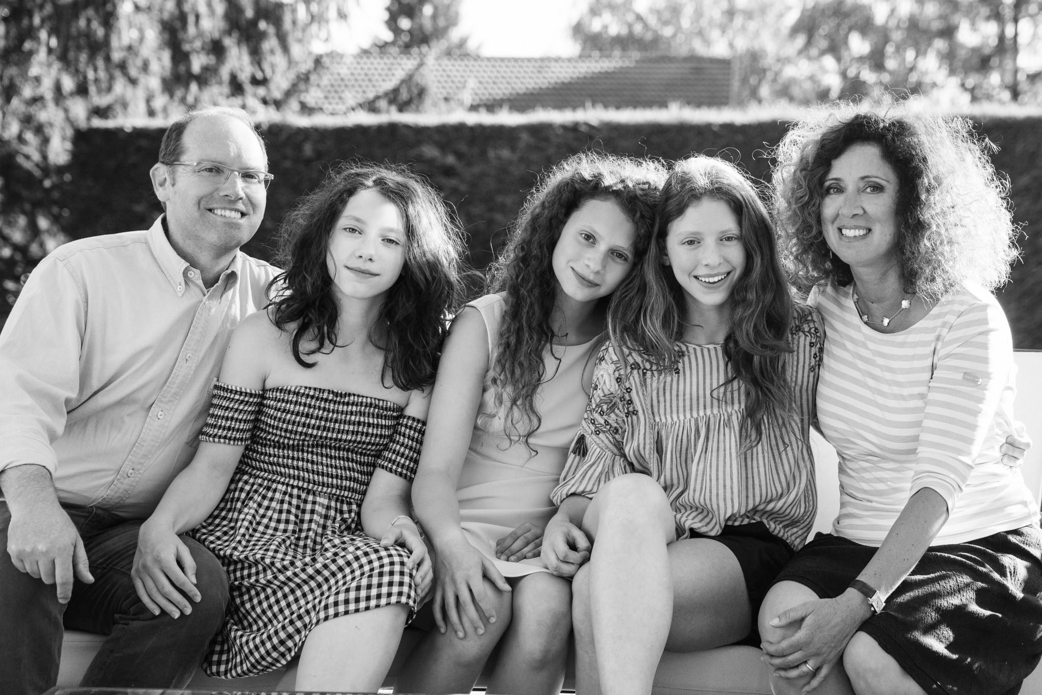 La famiglia a Saint-Génie-Pouilly