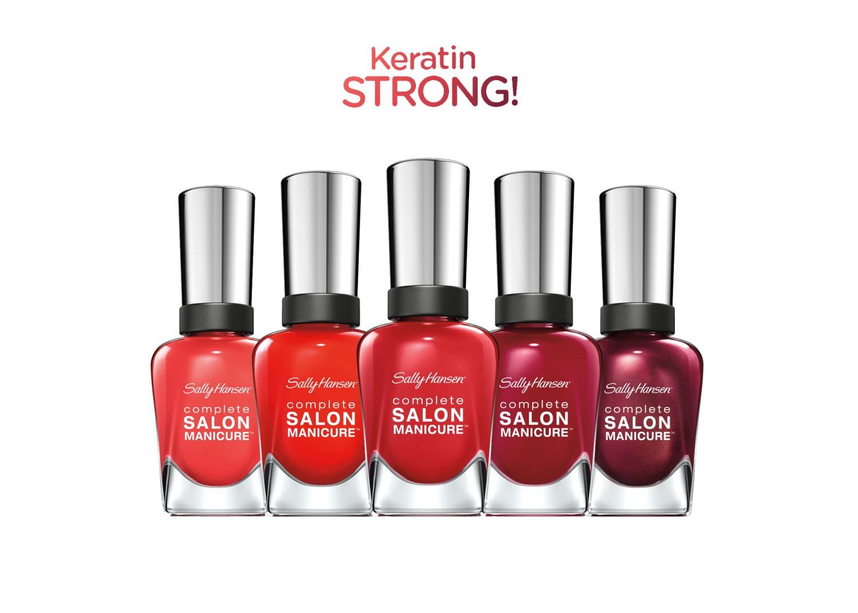 Sally Hansen Complete Salon Manicure Color Chart