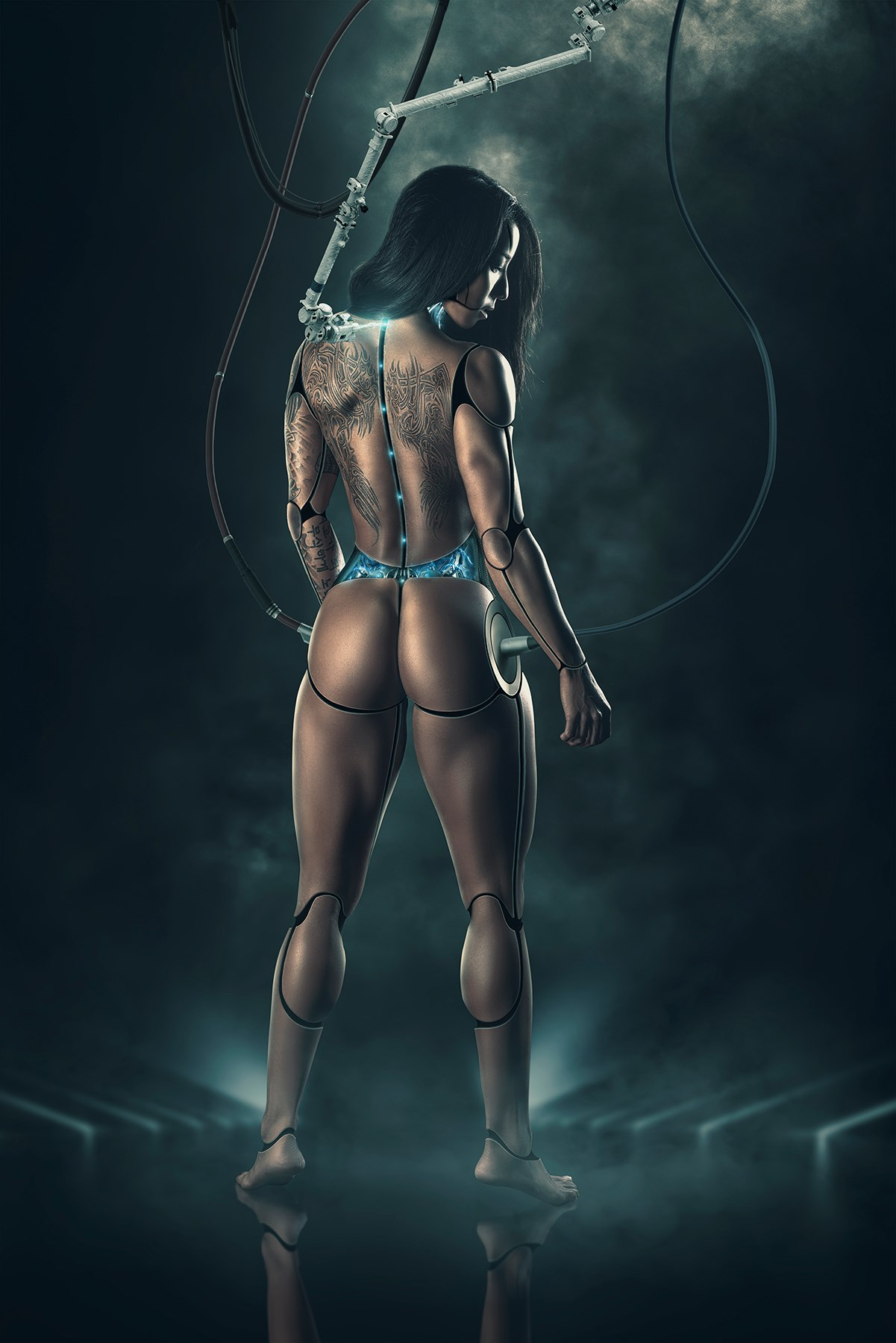 Project S.W.O.L.E, Model image by Casey Withers