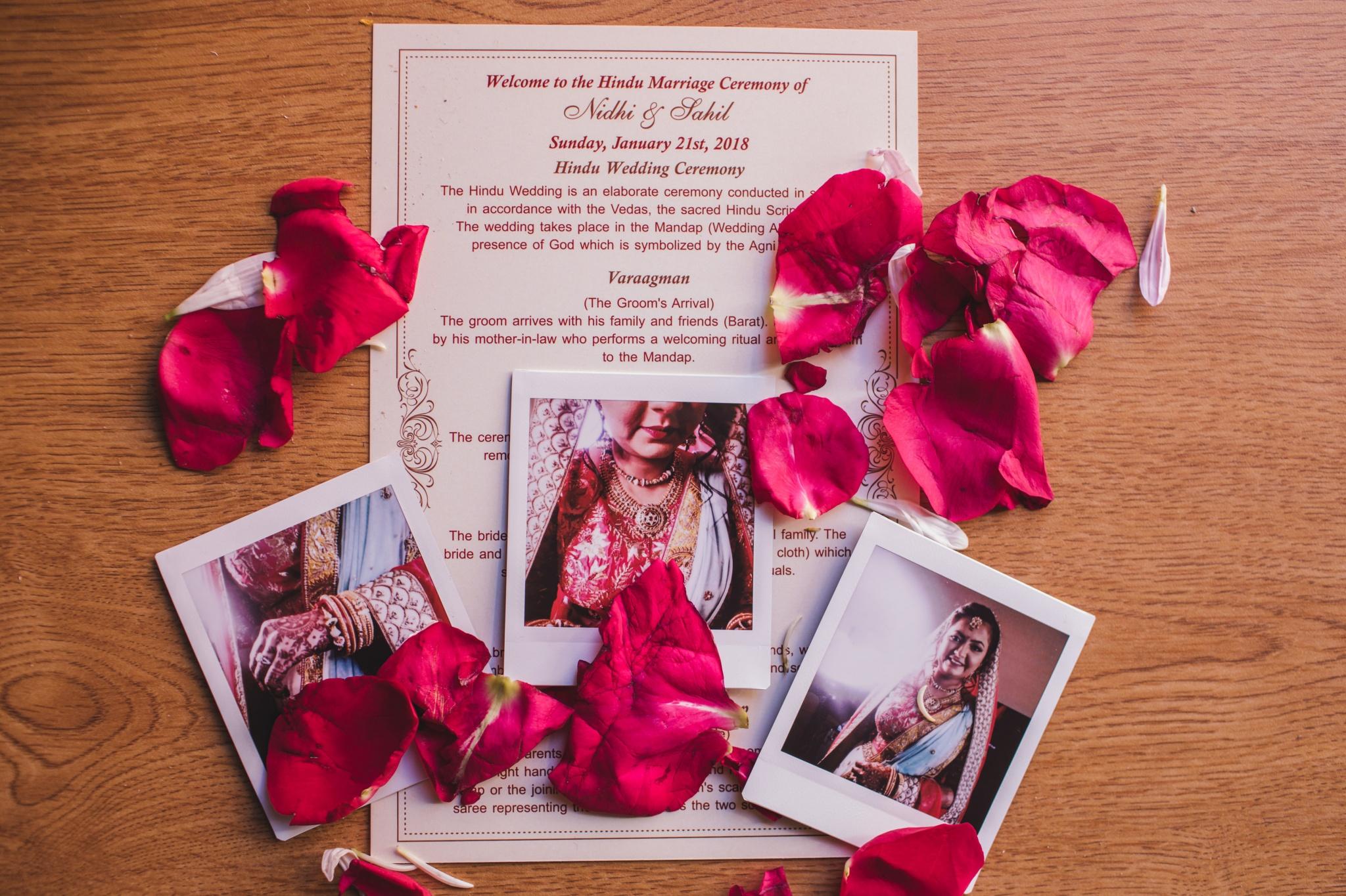 Nidhi + Sahil's Wedding Ceremony