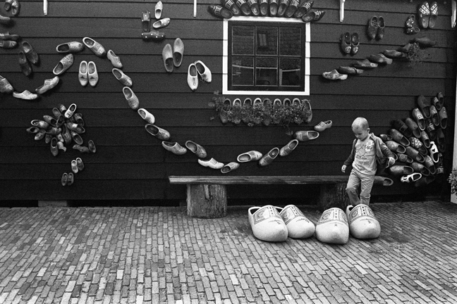 The Boy in the Wooden Clog, Netherlands 2015   Edition 1 of 2