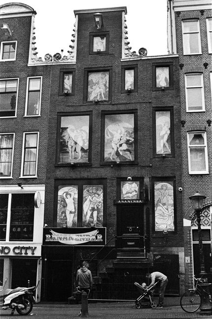 With the Baby in De Wallen, Amsterdam 2015   Edition 1 of 2