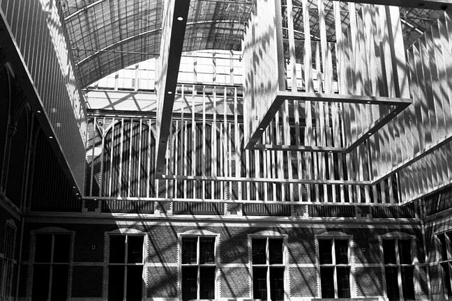 Windows, Arches & Slats, Amsterdam 2015   Edition 2 of 2