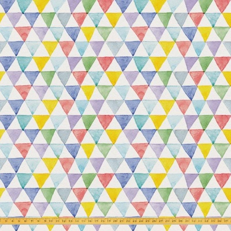 'watercolor triangles'