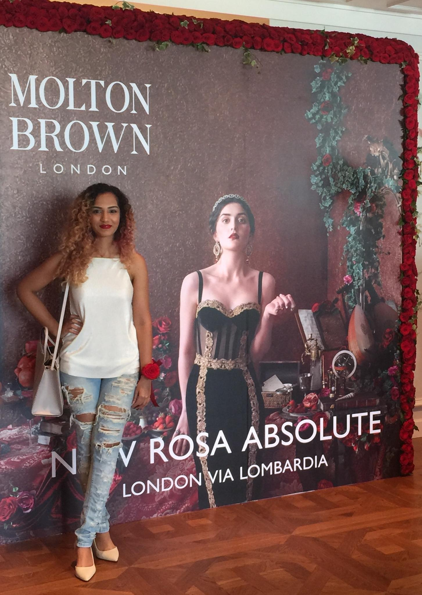 Molton Brown presents the NEW Rosa Absolute collection