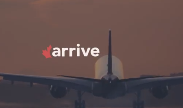 Meet Arrive: A Platform Supporting Newcomers to Canada