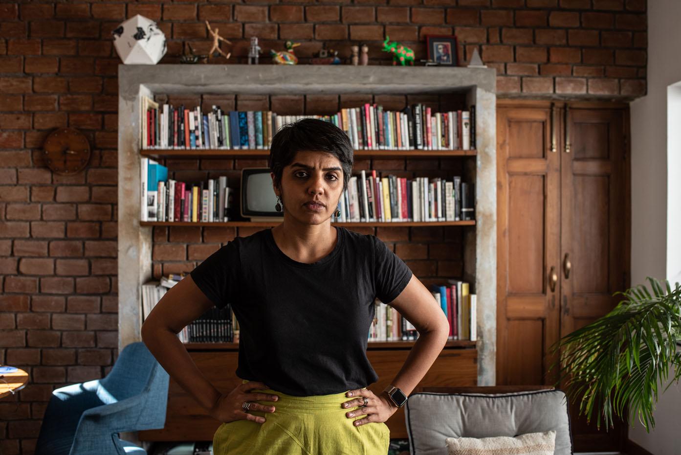 Gayatri Nair, Chennai Photo Biennale, portrait