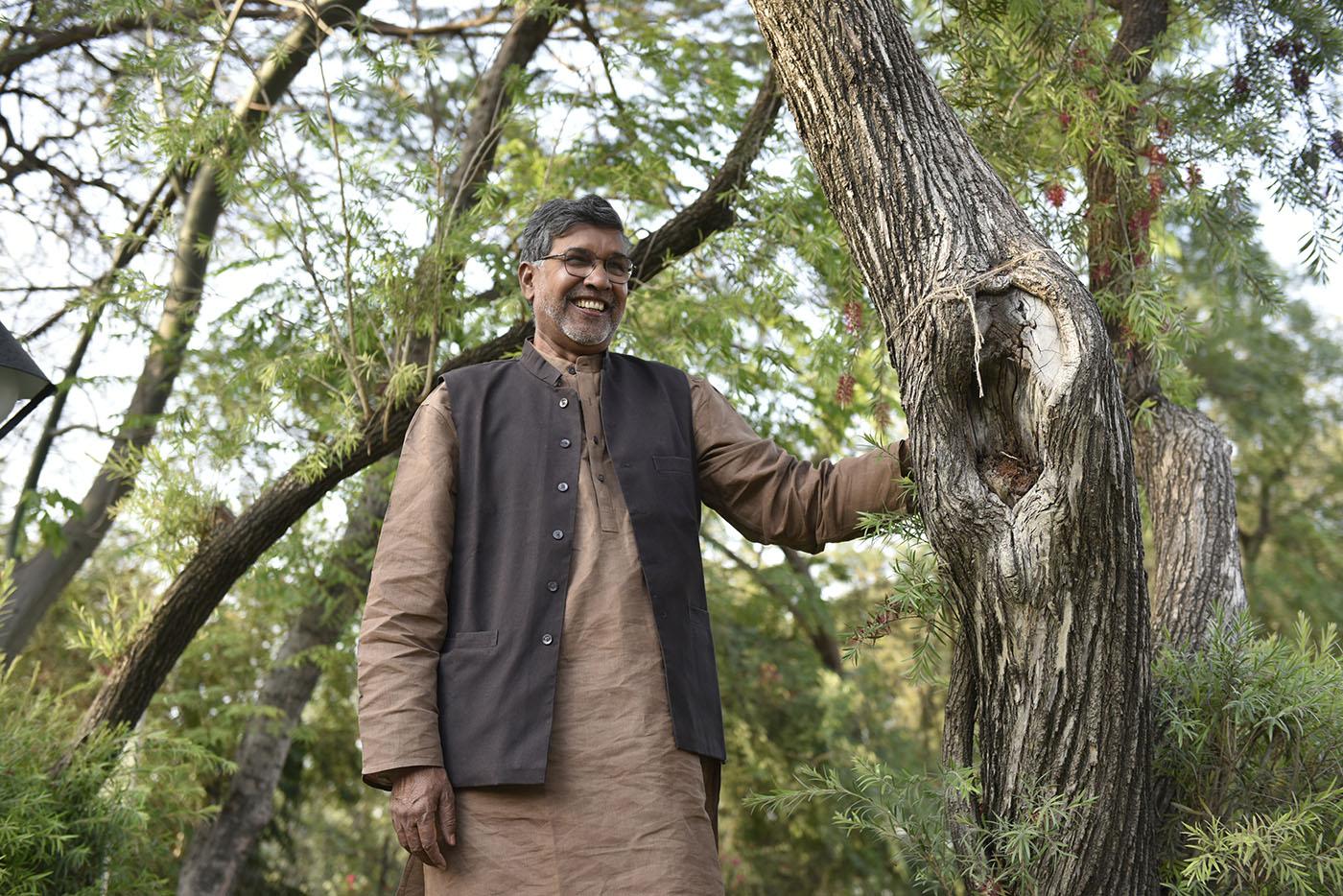 Kailash Satyarthi, Social Activist, portrait