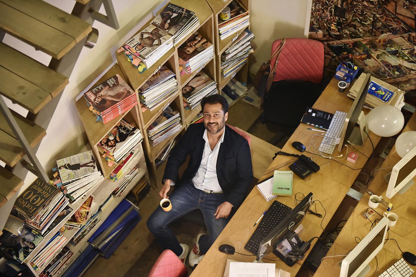 Abhishek Kapoor, director, portrait