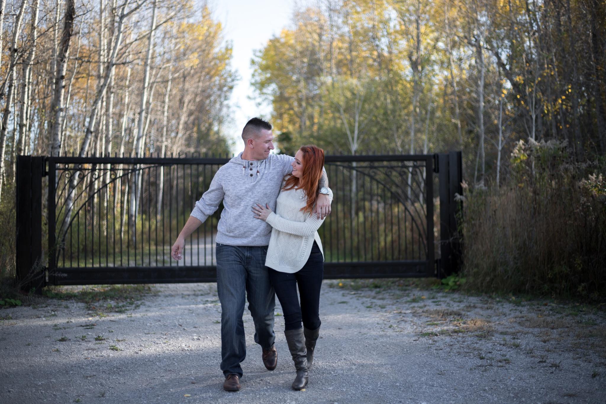 Kawartha Engagement | Marc + Stephanie