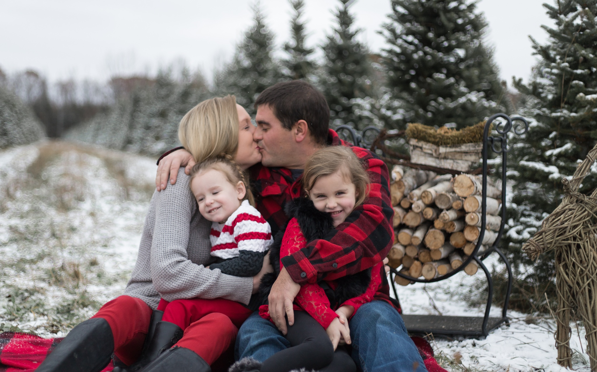 Christmas Mini Session  |   Carney Family