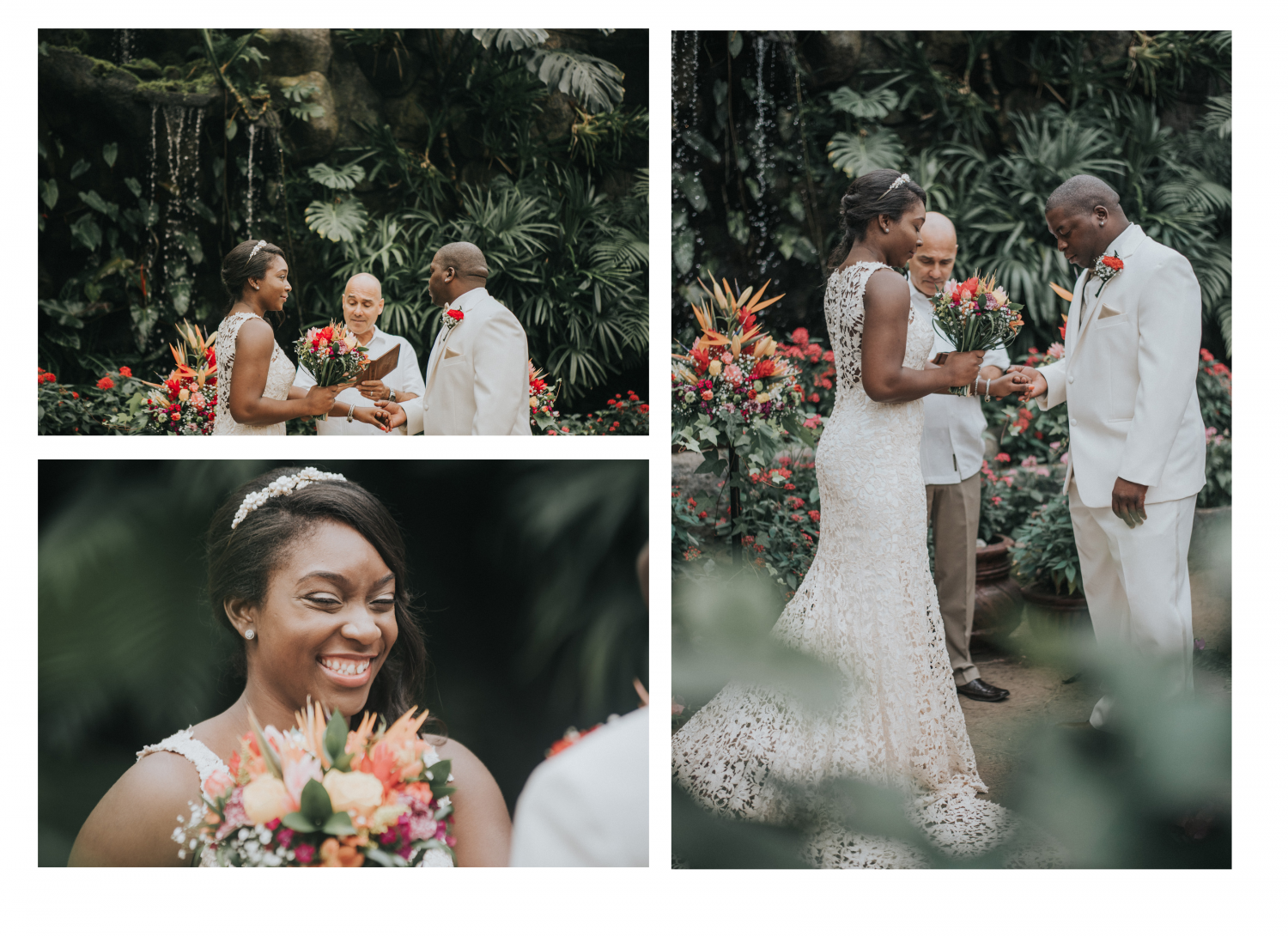 La Paz Watefall Gardens Wedding Photographer