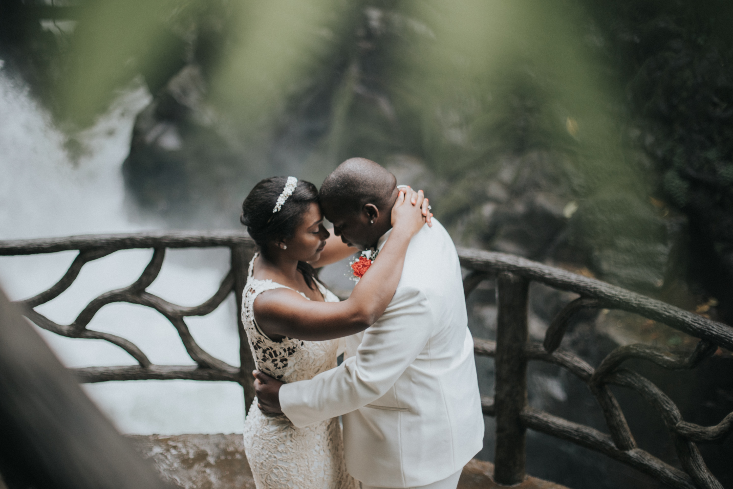 Waterfall Gardens Costa Rica Wedding