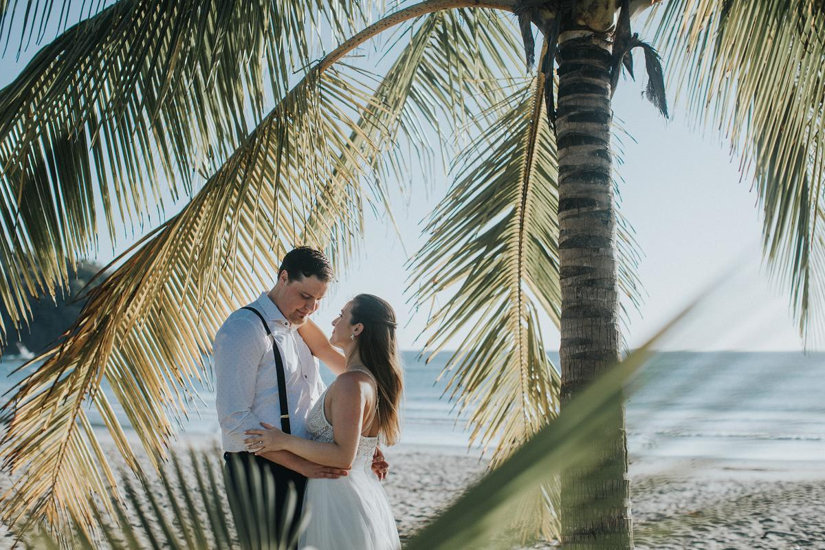 Beach Elopement Costa Rica Photographer