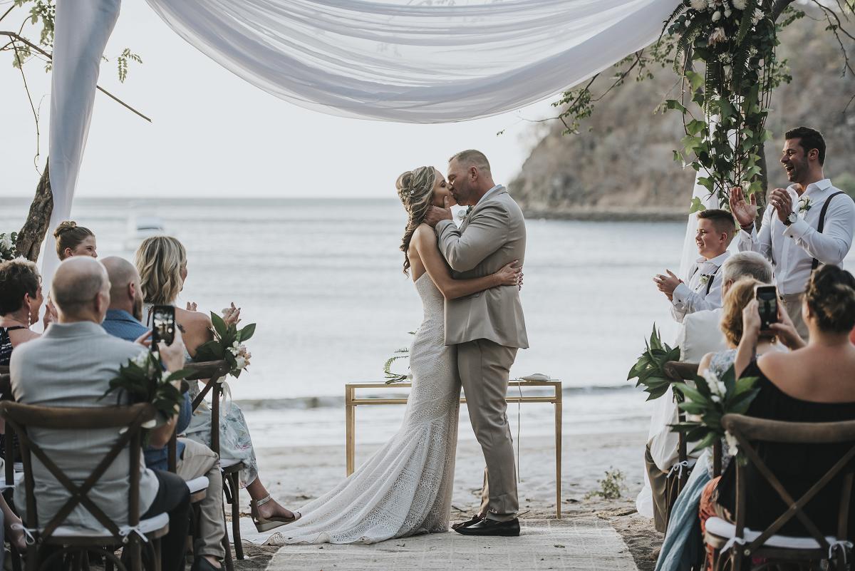 Tropical Beach Wedding Costa Rica
