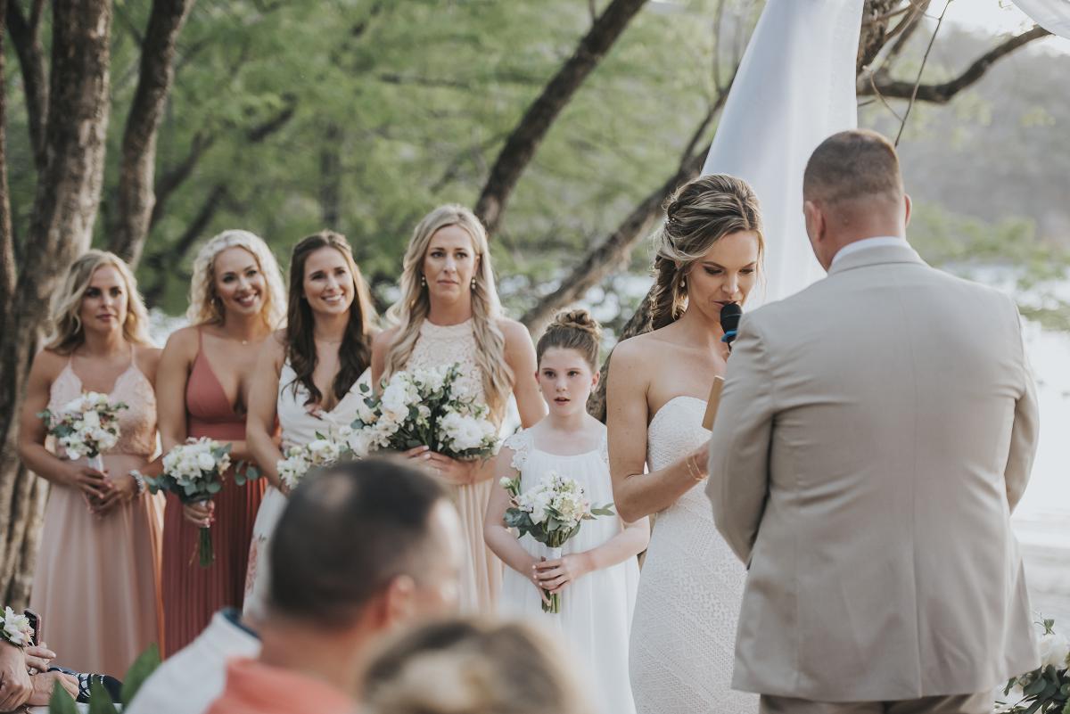 costa rica beach wedding venues