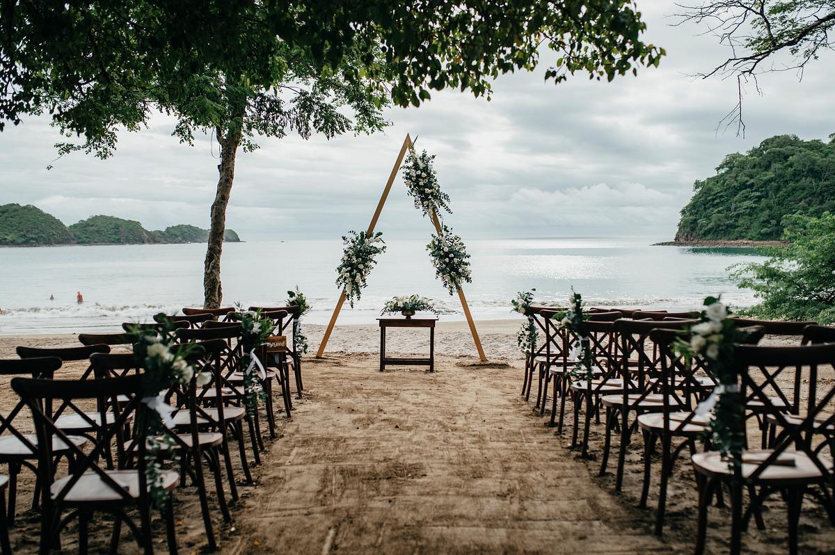 Santa Elena - Beach Ceremony Dreams Las Mareas Costa Rica