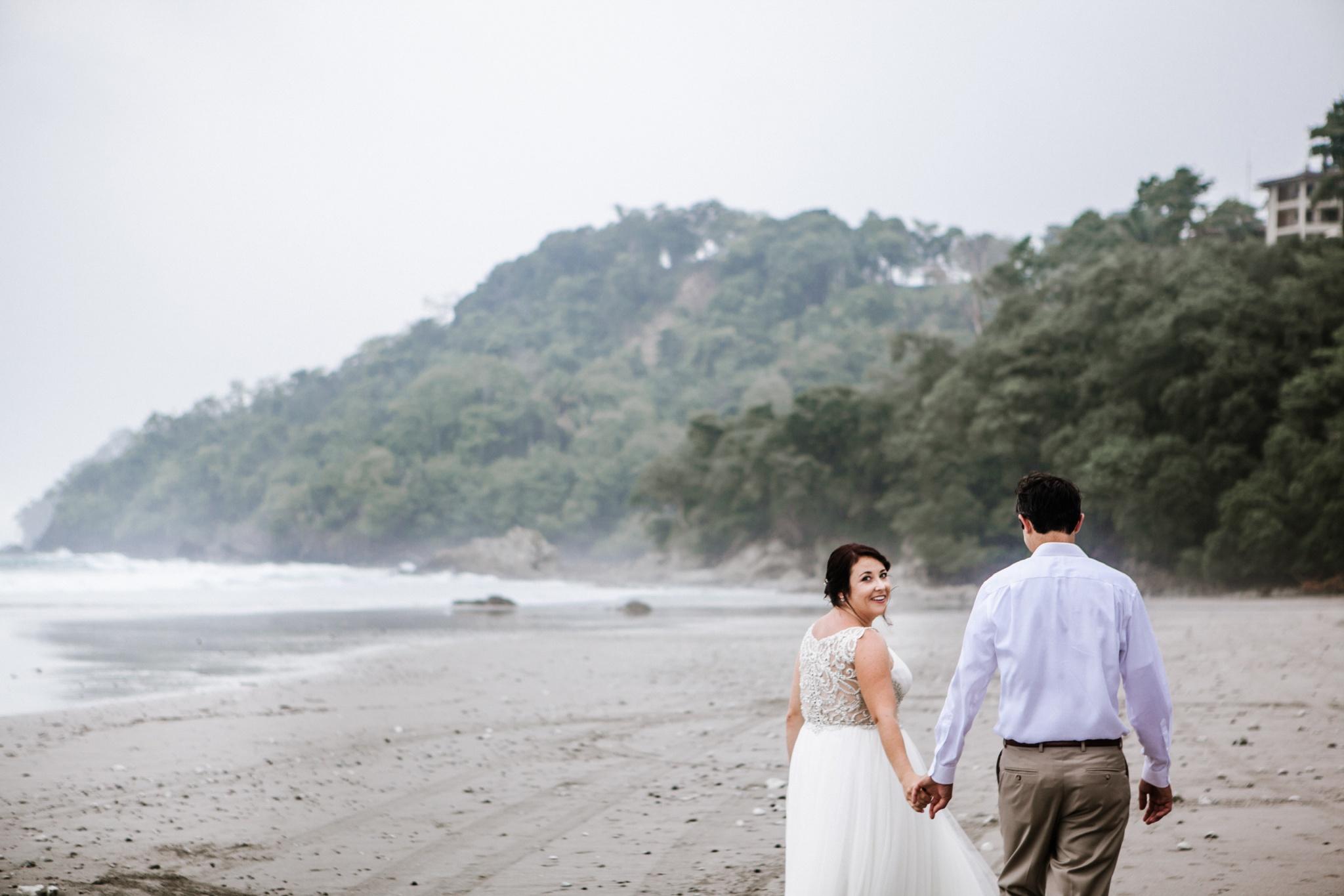Ashley & Larry,  Destination Wedding in Manuel Antonio, Playa Playitas, Costa Rica