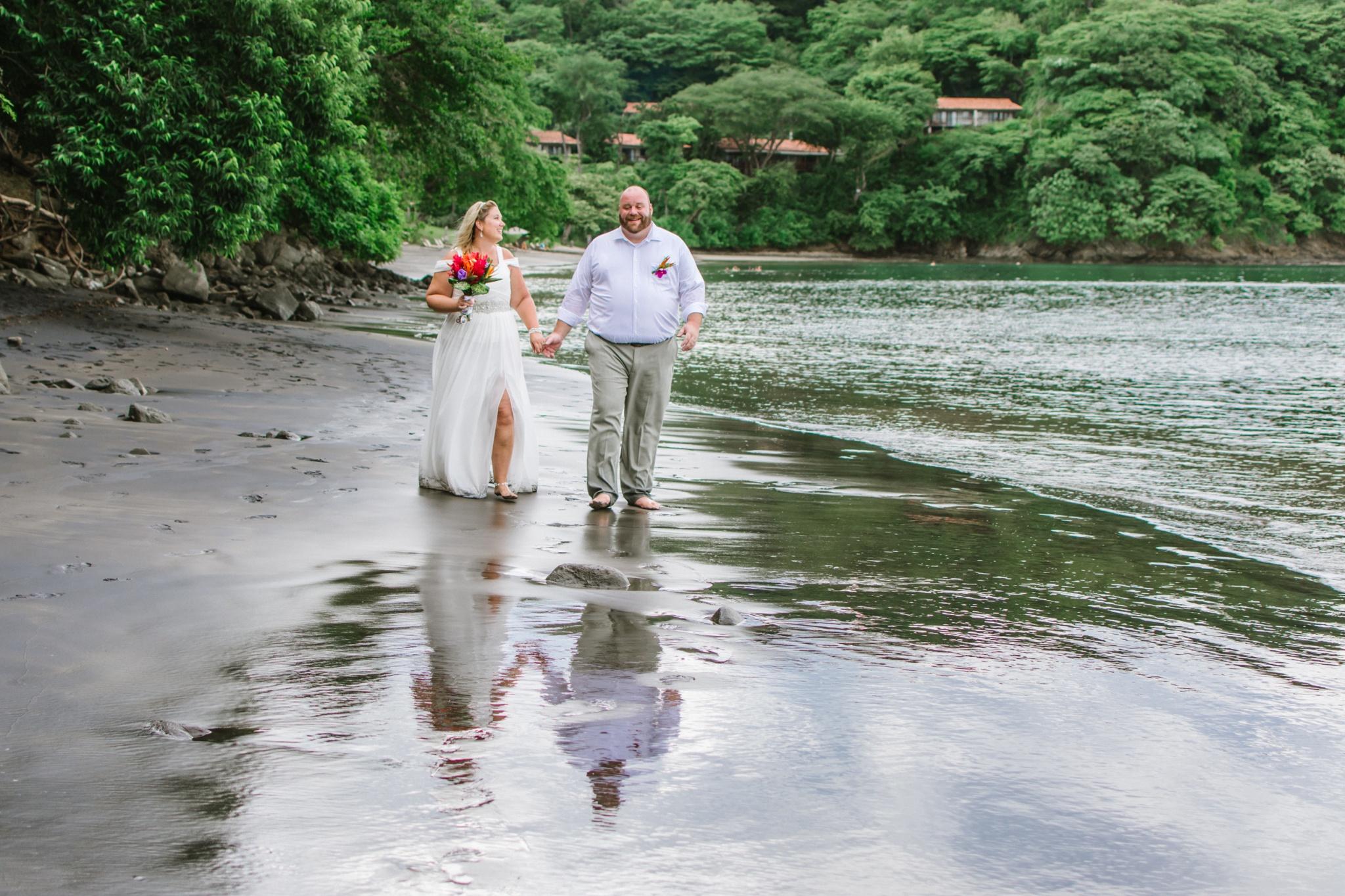 Sandy & Bryson - Elopement in Secrets Papagayo - Guanacaste Costa Rica