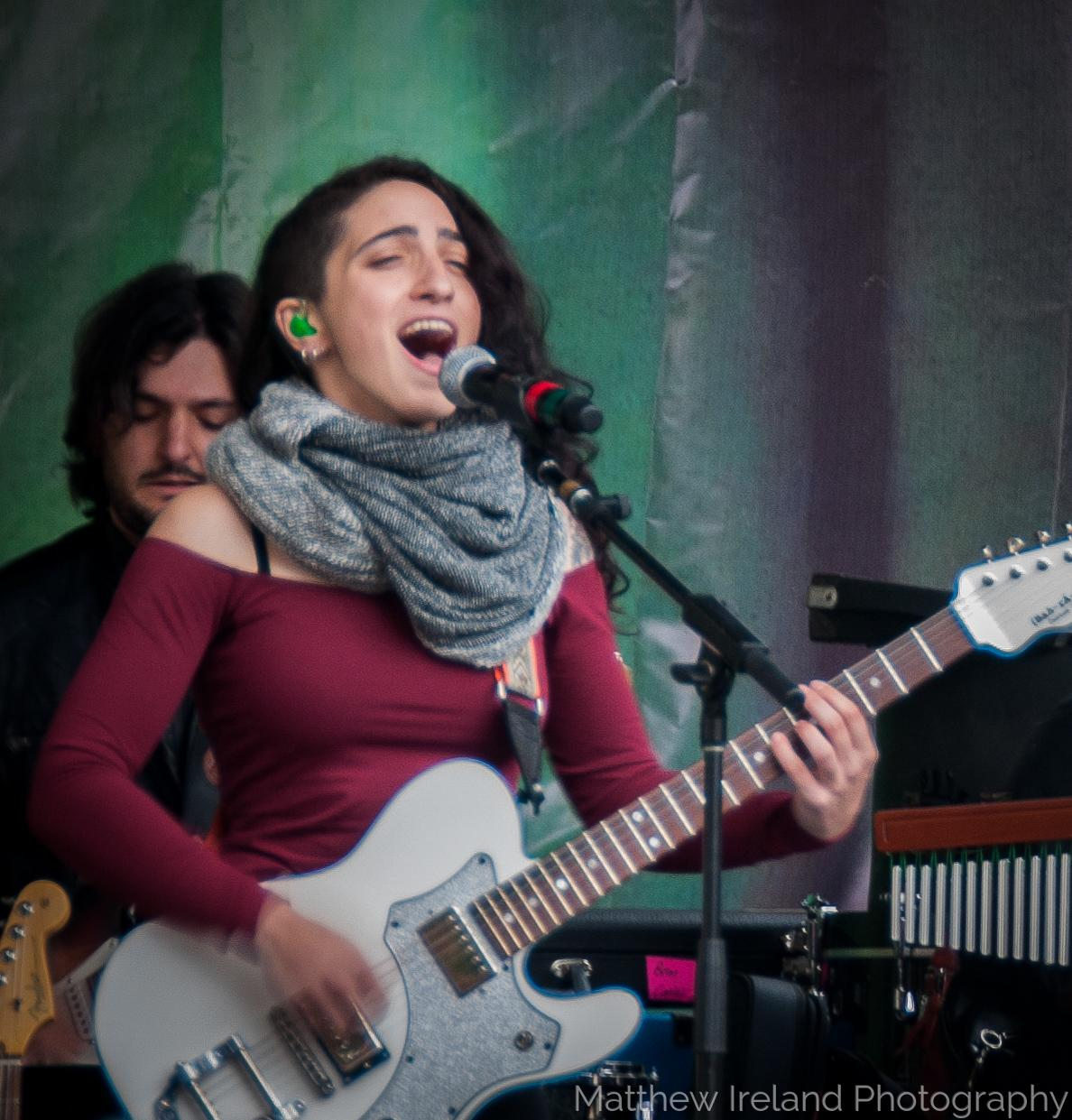 Emily Estefan at Berklee Jazz Fest