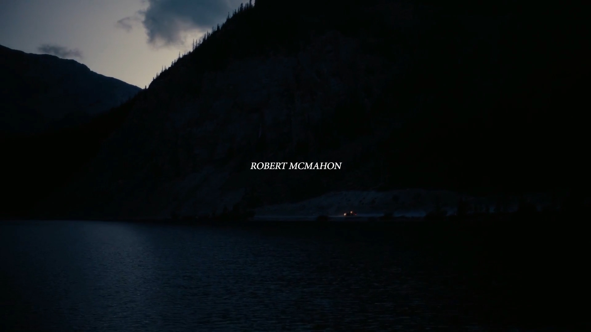 ROBERT MCMAHON - Favorite Film Shots