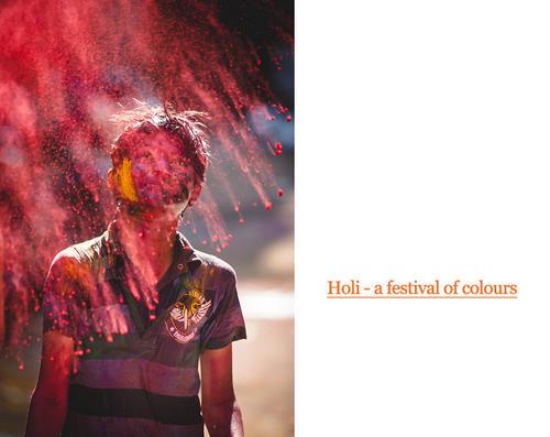 Holi – a celebration of colors
