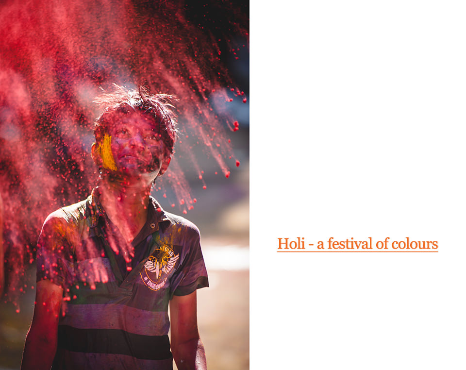 Holi – a celebration of colors