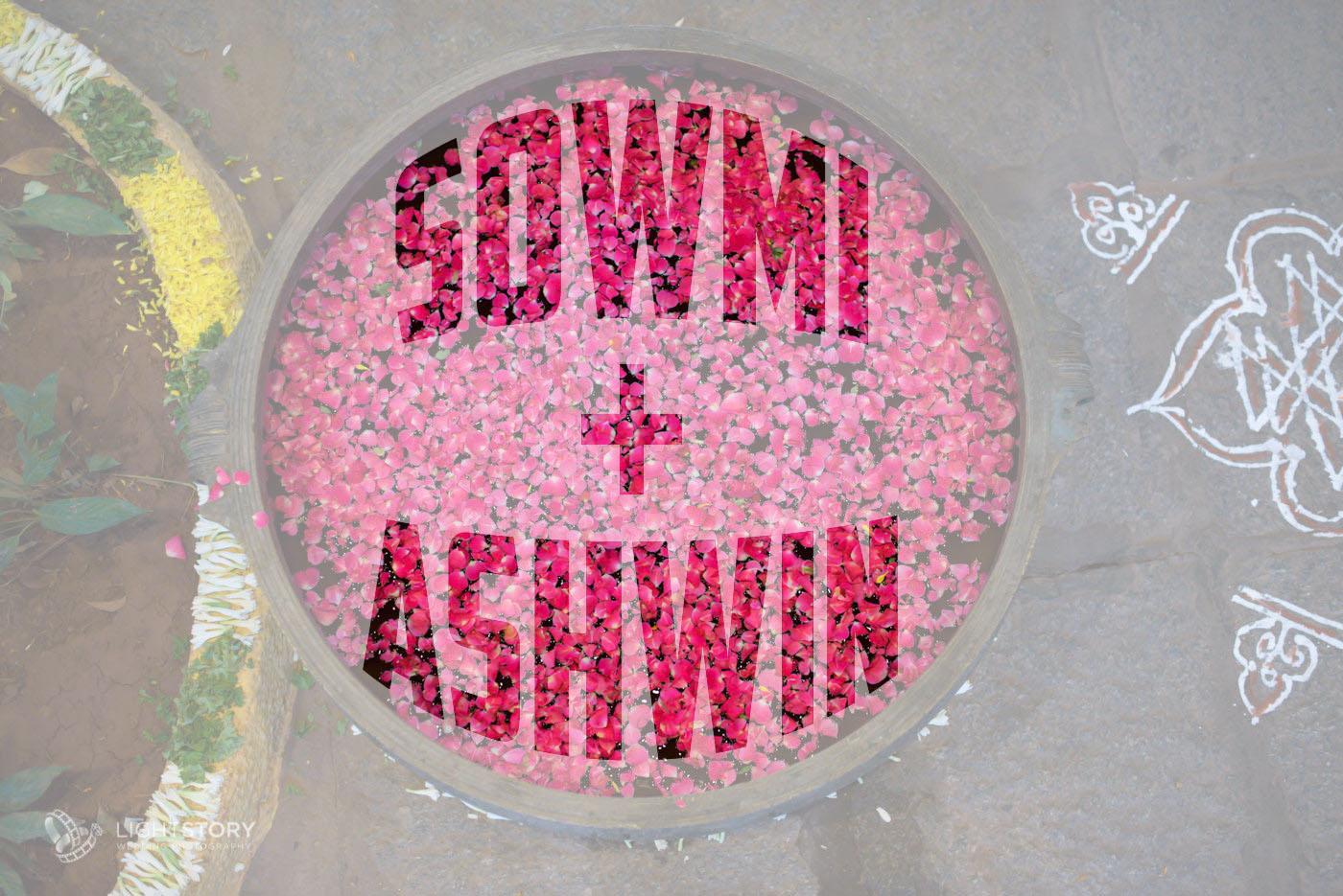 Ashwin + Sowmi - a charming wedding at Ganjam Madapa, Bangalore