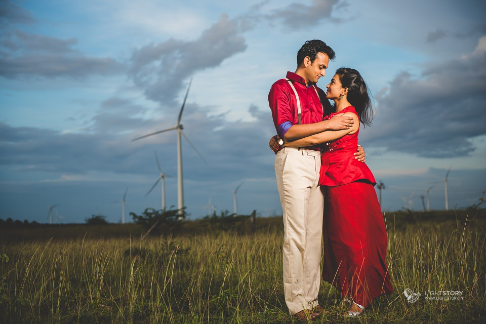 Poorna + Vibushan - Couple Shoot