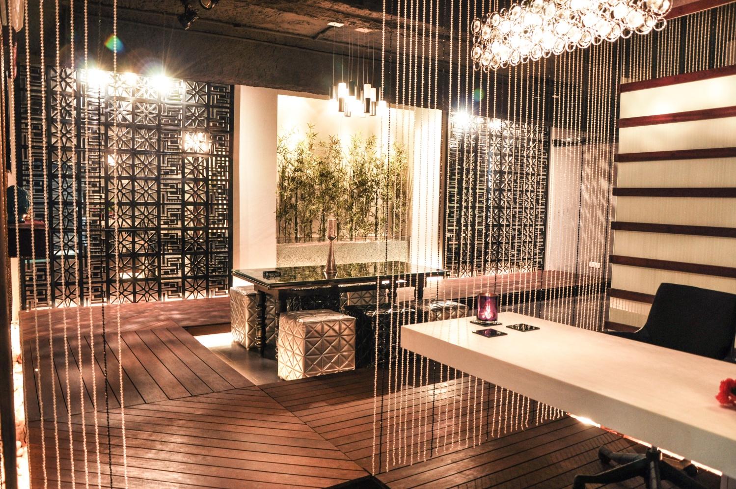 wooden flooring showroom