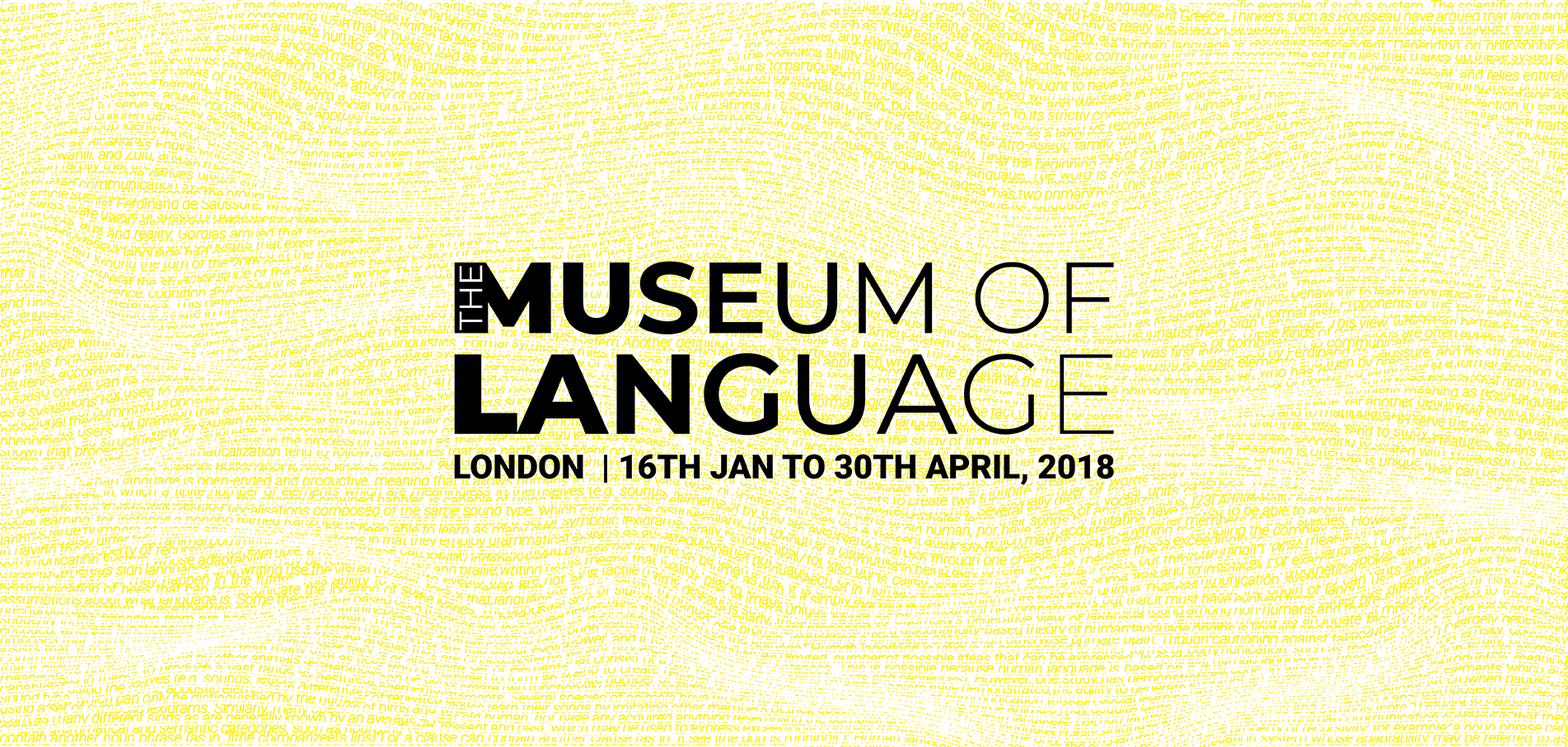 NEW COMPETITION : MUSEUM OF LANGUAGE