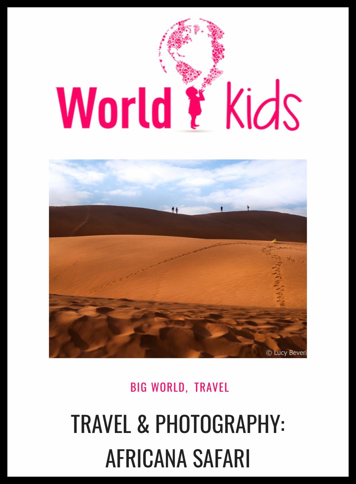 World Kids entrevista a Africana Safari     Africana Safari interview by World Kids