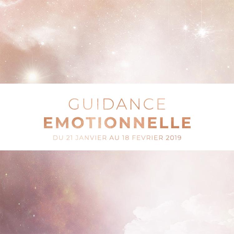 Tirage de présentation - Guidance émotionnelle