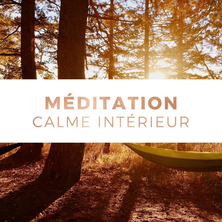 Calme intérieur - Méditation avec les Mudras