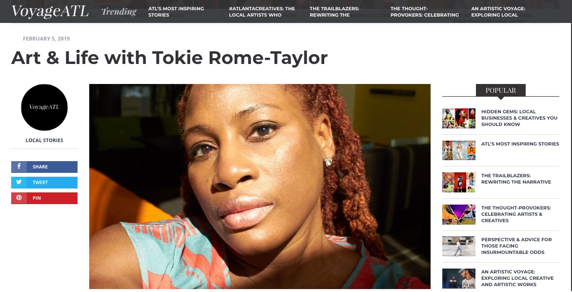 Photographer and artist, Tokie Taylor