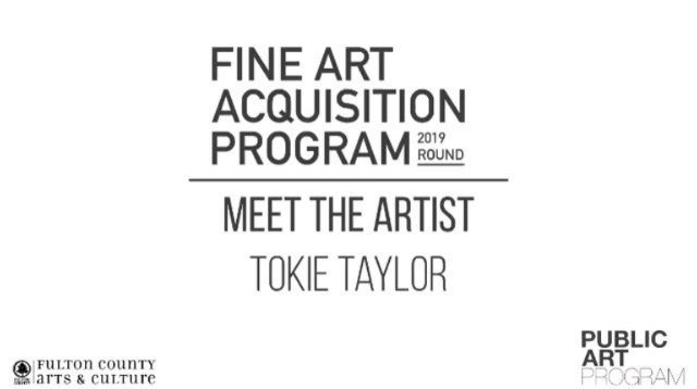 Fulton County Fine Art Acquisition  Tokie Rome-Taylor