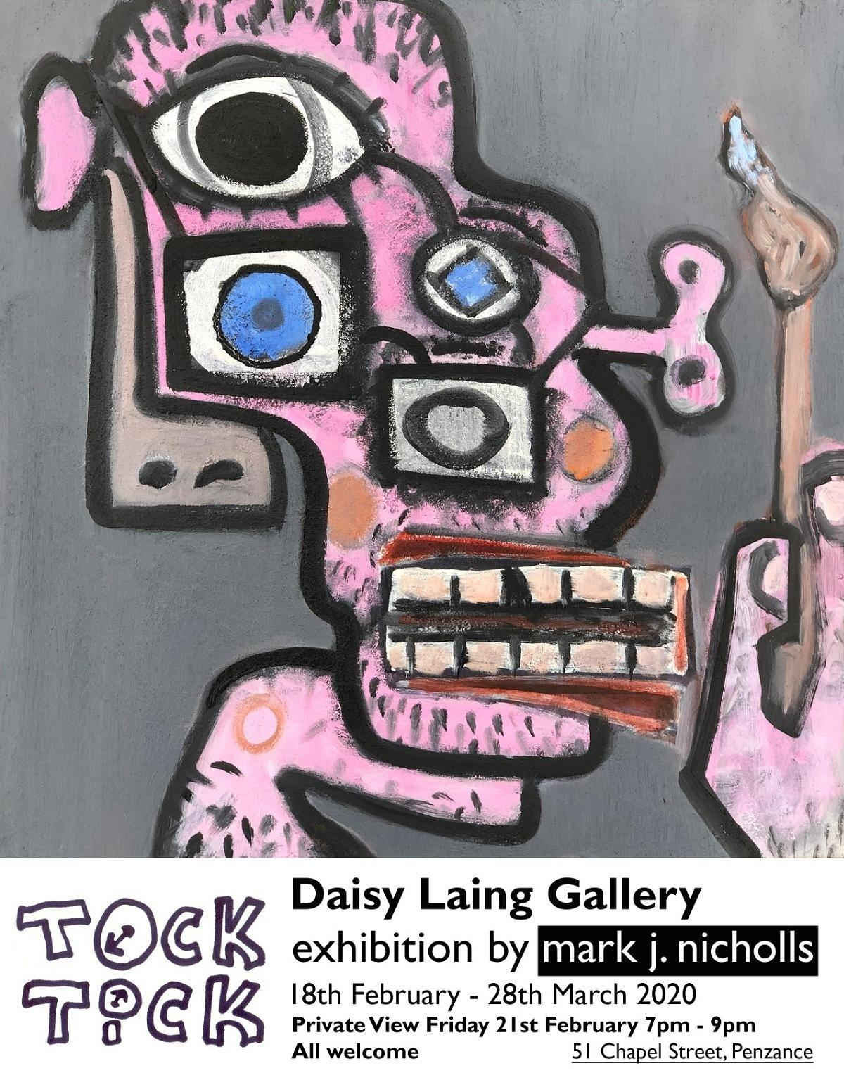 latest exhibition at daisy laing gallery