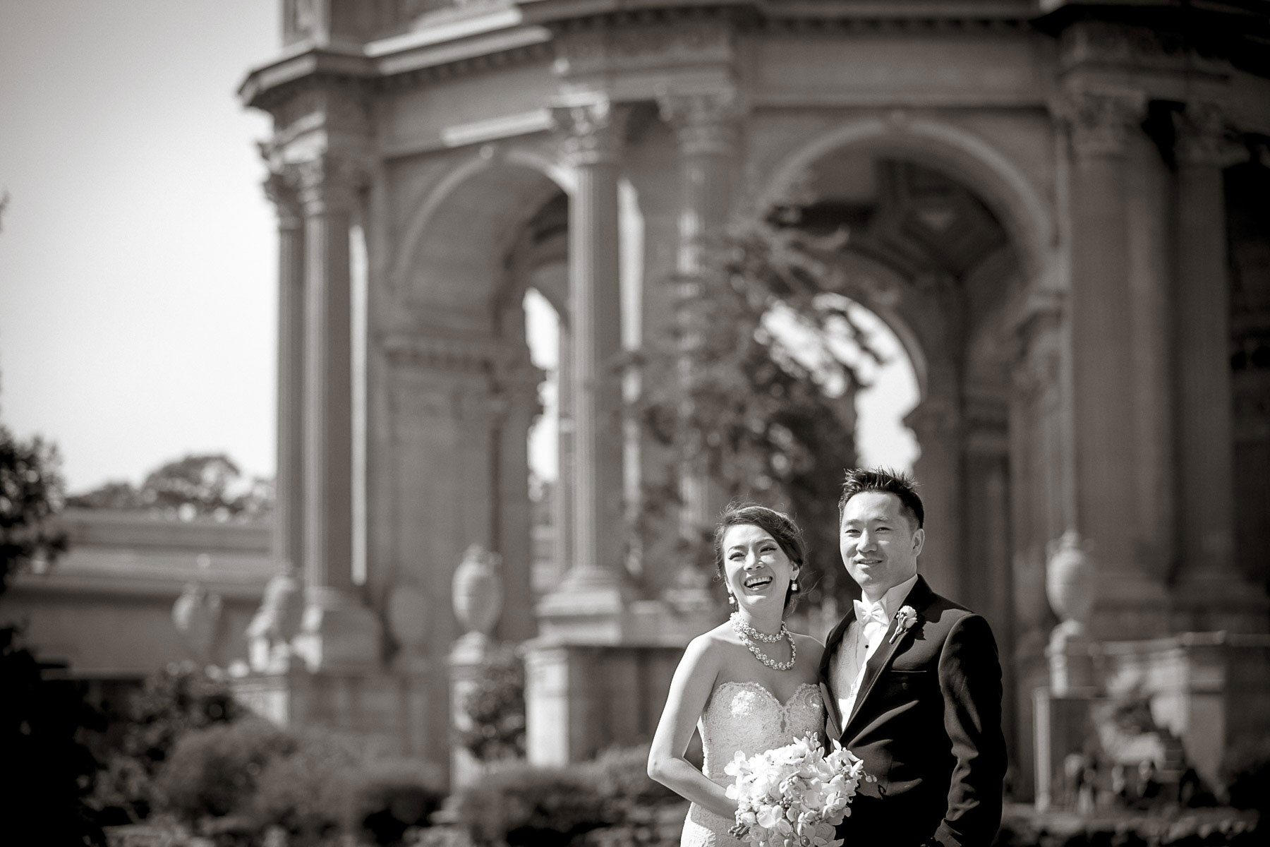 Tiffany + Peter :: San Francisco Fairmont Hotel