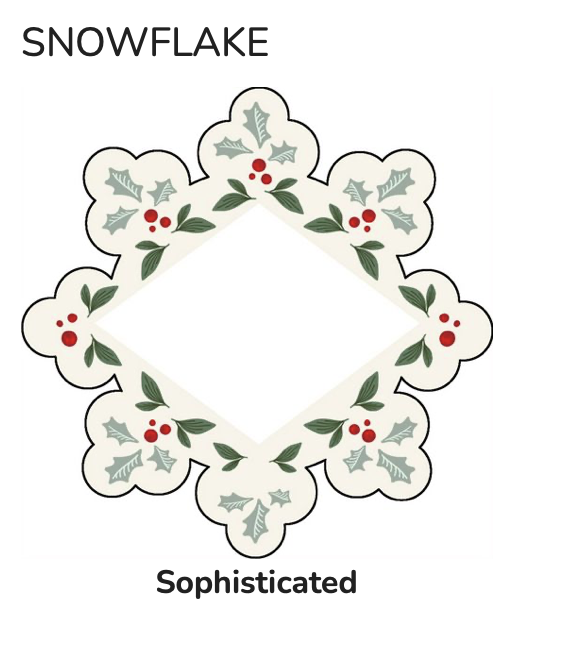 Ornament 3 pack