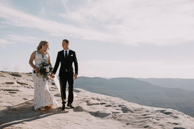 Gemma + Dylan | Fairmont Blue Mountains