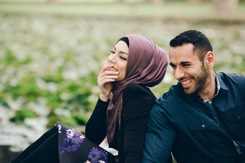 Delfa + Mohammad Engagement | Centennial Park